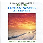 Natural Sounds Ocean Waves At Sunset - Relax With Nature