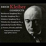Erich Kleiber Orchestral Music - Beethoven, L. / Borodin, A. / Schubert, F. / Tchaikovsky, P.I. (Nbc Symphony, E. Kleiber) (1947-1948)