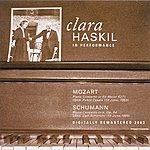 "Clara Haskil Mozart, W.A.: Piano Concerto No. 9, ""Jeunehomme"" / Schumann, R.: Piano Concerto (Haskil, Casals, Schuricht) (1953, 1955)"