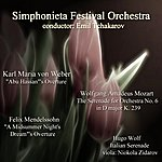 Emil Tchakarov Weber - Mozart - Wolf - Mendelssohn: Selected Works