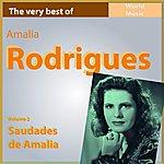 Amália Rodrigues The Very Best Of Amélia Rodriguez, Vol. 2: Saudades De Amalia