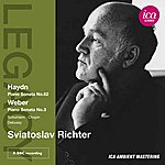 Sviatoslav Richter Haydn: Piano Sonata No. 62 - Weber: Piano Sonata No. 3
