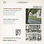 Felix Galimir Chamber Music From Marlboro - Schoenberg: Verklaerte Nacht, Op. 4 / Fauré: La Bonne Chanson, Op. 61