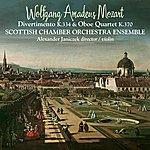 Scottish Chamber Orchestra W.A. Mozart Divertimento K.334 And Oboe Quartet K.370