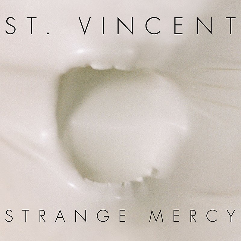Cover Art: Strange Mercy
