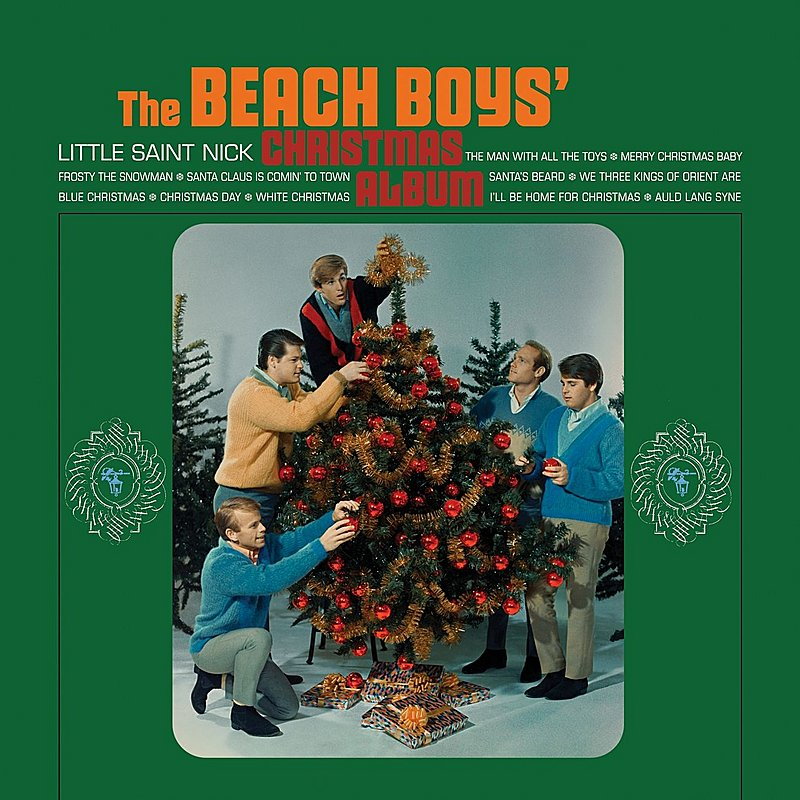 Cover Art: The Beach Boys' Christmas Album