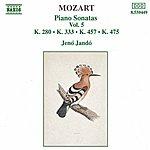 Jenő Jandó Mozart: Piano Sonatas, Vol. 5 (Piano Sonatas Nos 2, 13 And 14 - Fantasia, K. 475)
