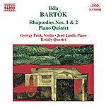 Jenő Jandó Bartok: Rhapsodies Nos. 1 And 2 / Piano Quintet