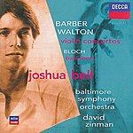 Joshua Bell Barber & Walton Violin Concertos / Bloch: Baal Shem