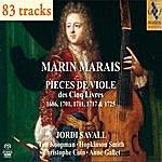 Jordi Savall Marin Marais : 5 Livres Pour Viole