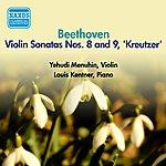 Yehudi Menuhin Beethoven, L. Van: Violin Sonata Nos. 8 And 9 (Menuhin, Kentner) (1956)