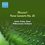 Edwin Fischer Mozart, W.A.: Piano Concerto No. 20 (Fischer, Philharmonia) (1956)