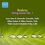 Isaac Stern Brahms, J.: String Sextet No. 1 (Stern, Casals, Foley, Schneider, Katims, Thomas) (1956)