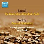 Antal Dorati Kodaly, Z.: Peacock Variations / Bartok, B.: Miraculous Mandarin Suite (Dorati) (1954)