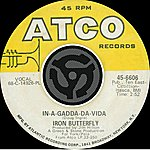 Iron Butterfly In-A-Gadda-Da-Vida / Iron Butterfly Theme [Digital 45]