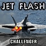 Challenger Jet Flash