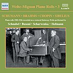 Artur Schnabel Welte-Mignon Piano Rolls, Vol. 3 (1905-1926)