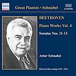 Artur Schnabel Beethoven: Piano Sonatas Nos. 11-13 (Schnabel) (1932-1934)