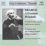 Arturo Toscanini Brahms: German Requiem