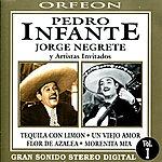 Jorge Negrete Pedro Infante Y Jorge Negrete