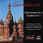 Theodore Kuchar Shostakovich: Violin Concerto No. 1 - Symphony No. 5