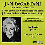 Jan DeGaetani Jan Degaetani In Concert, Vol. 2