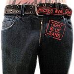 Mickey Avalon Tight Blue Jeans
