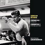 """Leonard Bernstein Beethoven: Symphony No. 1 In C Major, Op21; Symphony No. 3 In E-Flat Major. Op. 55 """"Eroica"""""""