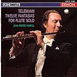 Jean-Pierre Rampal Telemann: Twelve Fantasias For Flute Solo