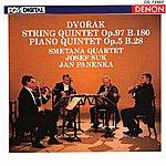 Smetana Quartet Antonin Dvorak Quintets, Op. 97 & 5