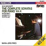 Maria João Pires Mozart: The Complete Sonatas For Piano, Vol. 4