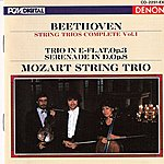 Mozart String Trio Ludwig Van Beethoven: String Trios