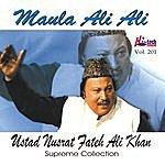Ustad Nusrat Fateh Ali Khan Maula Ali Ali Vol. 201