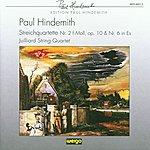 Juilliard String Quartet Paul Hindemith: Streichquartette Nr.2 & Nr.6