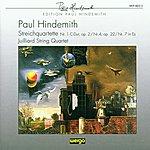 Juilliard String Quartet Paul Hindemith: Streichquartette Nr.1, 4 & 7