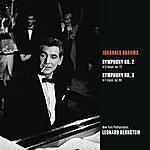 Leonard Bernstein Brahms: Symphony No. 2 In D Major, Op. 73; Symphony No. 3 In F Major, Op. 90