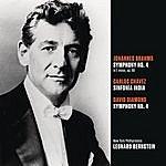 Leonard Bernstein Brahms: Symphony No. 4 In E Minor, Op. 98; Chávez: Sinfonía India (Symphony No. 2); Diamond: Symphony No. 4