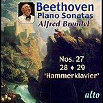 """Alfred Brendel Beethoven: Piano Sonatas Nos. 27 –28 – 29 (""""hammerklavier"""")"""