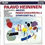 Helsinki Philharmonic Orchestra Paavo Heininen : Arioso, Piano Concerto No.2, Symphony No.2
