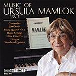 Scott Yoo Music Of Ursula Mamlok, Vol. 1