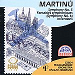 Czech Philharmonic Orchestra Martinů: Symphony No. 5, Fantaisies Symphoniques (Symphony No. 6), Inventions