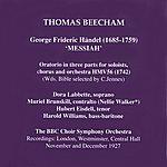Sir Thomas Beecham Händel: Hwv 56, 'messiah'
