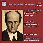 Berlin Philharmonic Orchestra Tchaikovsky: Symphony No. 6, 'pathetique' (Furtwangler) (1938)