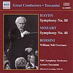 Arturo Toscanini Haydn: Symphony No. 88 / Mozart: Symphony No. 40 (Toscanini) (1938-1939)