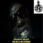 Crunchy Black Big Bra Be Robbin