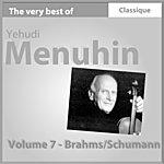 Yehudi Menuhin Brahms : Danses Hongroises - Schumann : Concerto Pour Violon En Ré Mineur