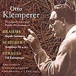 Otto Klemperer Brahms: Variations On A Theme By Haydn / Schubert: Symphony No. 4 / Strauss, R.: Till Eulenspiegels Lustige Streiche (Klemperer) (1957)