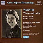 Kirsten Flagstad Wagner, R.: Tristan Und Isolde (Melchior, Flagstad, Reiner) (1936)