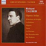 Richard Tauber Tauber, Richard: Opera Arias (1919-1926)