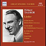 Richard Tauber Tauber, Richard: Lieder (1919-1926)